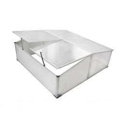 vidaXL Reloj de pared de hierro y MDF marrón y negro 45 cm