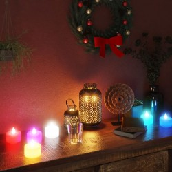 vidaXL Reloj de pared de hierro y MDF antracita y dorado 31,5 cm