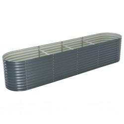 vidaXL Cenador con cortinas gris antracita 3,5x3,5x3,1 m