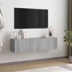 vidaXL Mesita de noche madera maciza mango y caña natural 40x30x50 cm