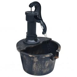 vidaXL Silla de oficina voladiza de cuero sintético gris
