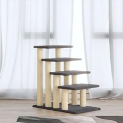 vidaXL Estantería para CDs 2 unidades gris aglomerado 21x16x93,5 cm