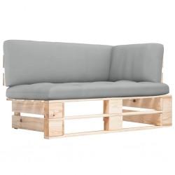 vidaXL Fregadero de cocina doble ovalado granito gris