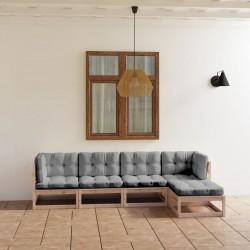vidaXL Lámparas de pared/techo industrial 2 uds plateada 20x25 cm E27