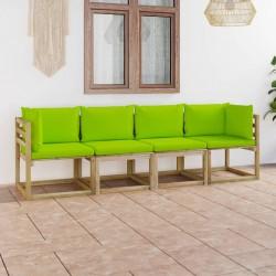 vidaXL Lámpara de pared industrial latón 45x25 cm E27