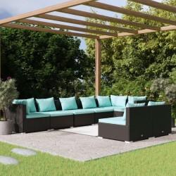 Fruit of the Loom Camisetas originales 10 uds gris M algodón