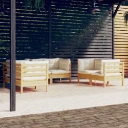 Fruit of the Loom Camisetas originales 10 uds gris L algodón