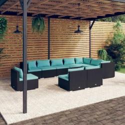 Fruit of the Loom Camisetas originales 5 uds azul marino 4XL algodón