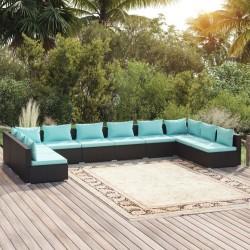 Fruit of the Loom Camisetas originales 5 uds azul marino 5XL algodón