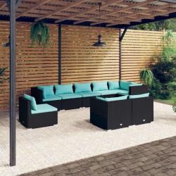 Fruit of the Loom Camisetas originales 10 uds azul marino 5XL algodón
