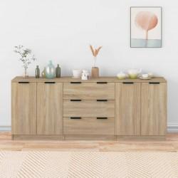 Fruit of the Loom Camisetas originales 5 uds rojo 3XL algodón