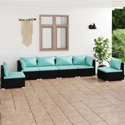 Fruit of the Loom Camisetas originales 5 uds azul marino S algodón