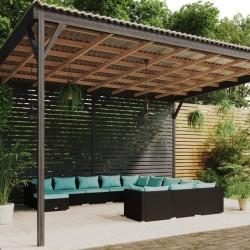 Fruit of the Loom Camisetas originales 5 uds azul marino L algodón