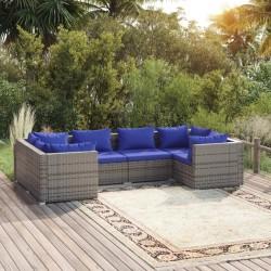 Fruit of the Loom Camisetas originales 5 uds azul marino XL algodón