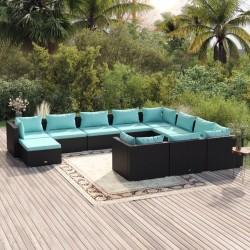 Fruit of the Loom Camisetas originales 5 uds azul marino 3XL algodón