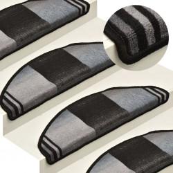 vidaXL Perfiles de suelo 5 unidades aluminio plateado 90 cm