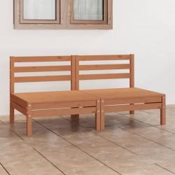 vidaXL Jardinera de gaviones de acero 540x90x50 cm