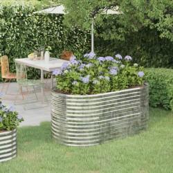 vidaXL Carro para herramientas con 15 cajones acero rojo
