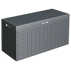 vidaXL Set muebles de jardín 5 pzas y cojines ratán sintético marrón