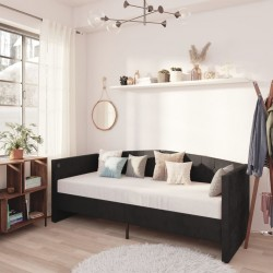 vidaXL Set de sofás de jardín 5 piezas y cojines ratán sintético negro