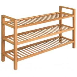 vidaXL Mueble de entrada aglomerado negro 100x25x76,5 cm