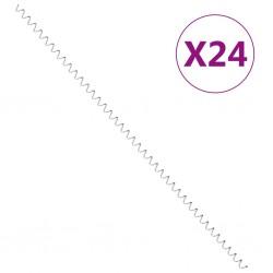 vidaXL Esterilla inflable de gimnasia con bomba PVC azul 60x100x10 cm