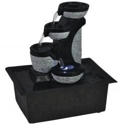 vidaXL Mandril de torno autocentrante de 3 mordazas 125 mm acero