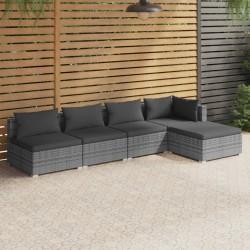 vidaXL Reloj de mesa negro hierro y MDF 33x16x45 cm