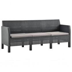 vidaXL Armario de espejo de baño aglomerado blanco 80x20,5x64 cm