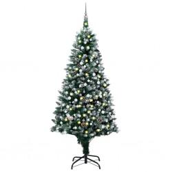 vidaXL Jardinera de gaviones de acero galvanizado 75x75x100 cm