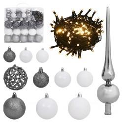 vidaXL Muro de gaviones para contenedor de basura acero 110x100x130cm