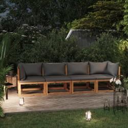vidaXL Mesa de trabajo comercial mueble acero inoxidable 60x60x96 cm