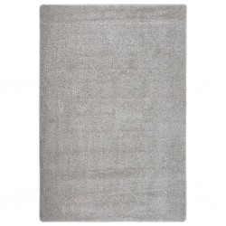 vidaXL Set de muebles de jardín 10 pzas y cojines ratán sintético gris