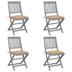 vidaXL Cadenas de advertencia 2 unidades plástico rojo y blanco 30 m