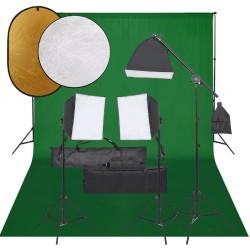 vidaXL Set de muebles de jardín 11 piezas ratán sintético