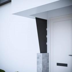 vidaXL Silla de trabajo con ruedas cuero sintético verde