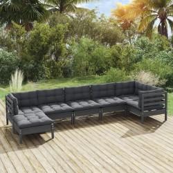 vidaXL Bomba de pie PP y PE gris y amarillo 21x29,5 cm
