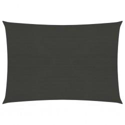 vidaXL Cabezal ducha efecto lluvia acero inox cuadrado negro 40x30 cm