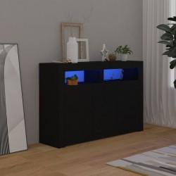 vidaXL Set de manilla y barra para puerta PZ acero inoxidable 800 mm