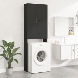 vidaXL Set de manilla y barra para puerta PZ acero inoxidable 1000 mm