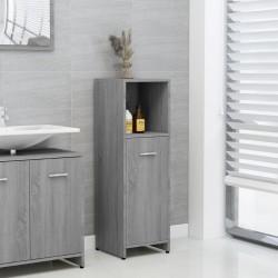 vidaXL Mesita de noche acabado de madera acacia sheesham 40x30x60 cm