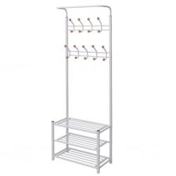 vidaXL Cabezal ducha efecto lluvia acero inox cuadrado dorado 50x50 cm
