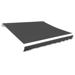 vidaXL Mueble para televisor vidrio templado transparente 75x40x40 cm