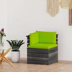 vidaXL Cancela doble de valla de acero gris antracita 306x250 cm