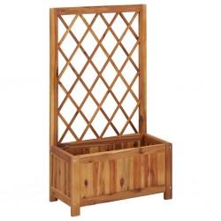 vidaXL Cama elástica fitness con mango 122 cm