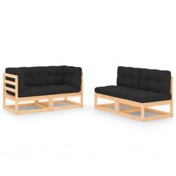 vidaXL Cubierta de piscina rectangular PE negro 1200x600 cm