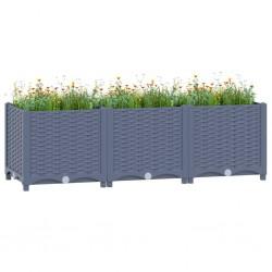 Fruit of the Loom Camisetas originales 5 uds gris 5XL algodón
