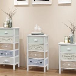 vidaXL Set de comedor de jardín 7 pzas cuerda de algodón y acero negro