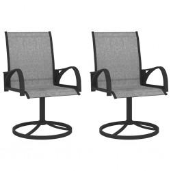 vidaXL Muebles de jardín 3 piezas ratán sintético y vidrio negro