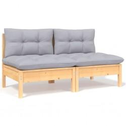 vidaXL Láminas autoadhesivas puertas 4 uds PVC madera blanca 210x90cm